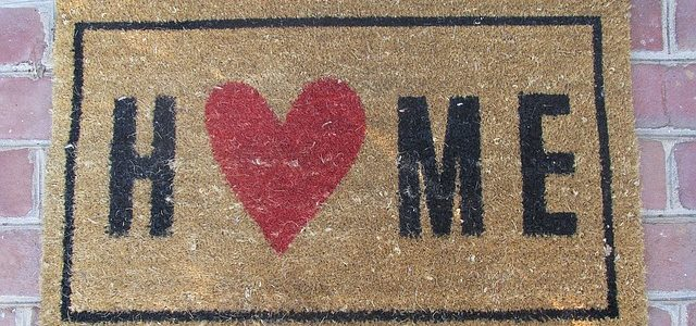 love home door mat